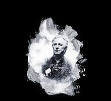 Alan Rickman Black Motive - The Third  by scatharis