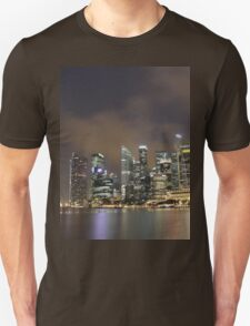 a sprawling Singapore landscape Unisex T-Shirt