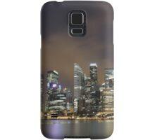 a sprawling Singapore landscape Samsung Galaxy Case/Skin