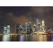 a sprawling Singapore landscape Photographic Print