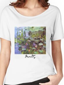Monet - Waterlilies (Nympheas) Women's Relaxed Fit T-Shirt