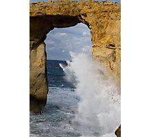 Azure Window Photographic Print