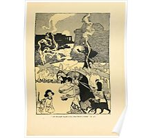 The Land of Enchantment by Arthur Rackham 0047 All Through Egypt Every Man Burns a Lamp Poster