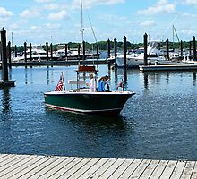 On the Water in Bristol Rhode Island by Susan Savad