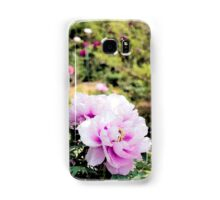 Pink flowers of Peony Samsung Galaxy Case/Skin