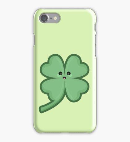 Kawaii Clover iPhone Case/Skin