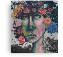 Nature in Glitter Lipstick Canvas Print