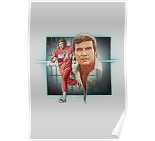 The Bionic Man! Poster