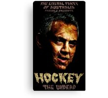 Hockey: The Undead! Canvas Print