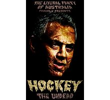 Hockey: The Undead! Photographic Print