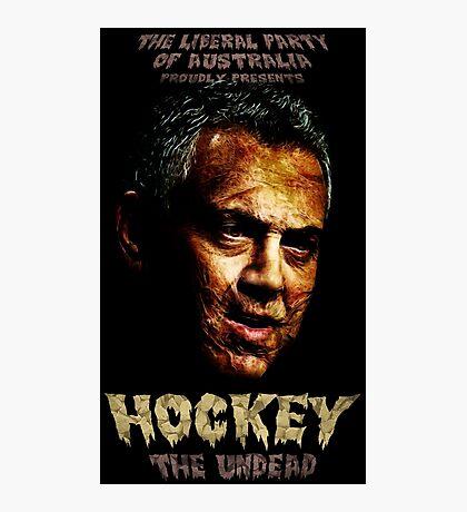 Hockey: The Undead! Photographic Print
