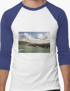 Entering Gozo Harbour Men's Baseball ¾ T-Shirt