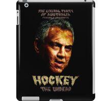 Hockey: The Undead! iPad Case/Skin