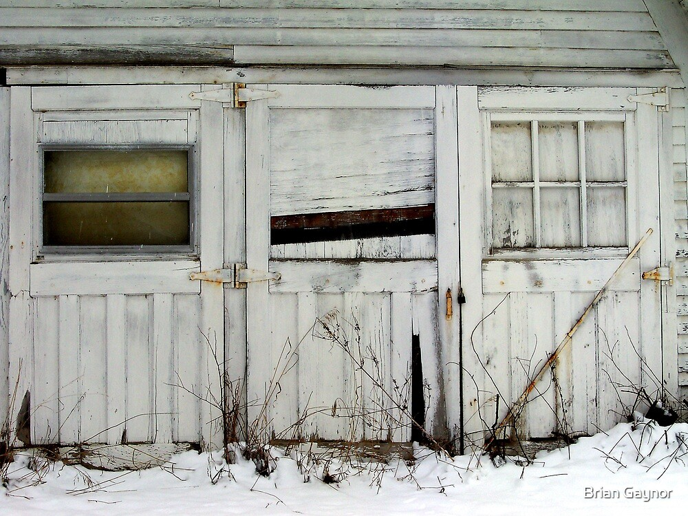 Broken Barn Doors by Brian Gaynor