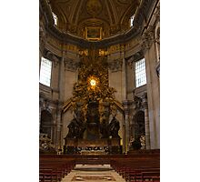 The centre of the Vatican Photographic Print