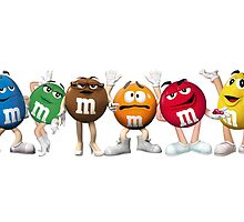 M&M Characters by MikePhotos