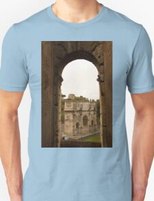 Constantine's Arch from the Colosseum  T-Shirt