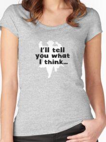 Grett Thinks Women's Fitted Scoop T-Shirt
