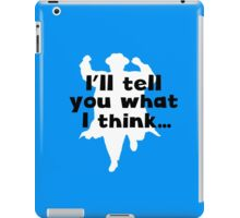 Grett Thinks iPad Case/Skin