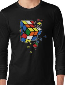 Exploding Cube Long Sleeve T-Shirt