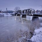 Winter arrives in Brantford by RandiScott