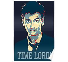 Doctor Who David Tennant Time Lord Poster