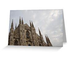 Duomo di Milano  Greeting Card