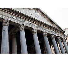 Pantheon, Rome Photographic Print