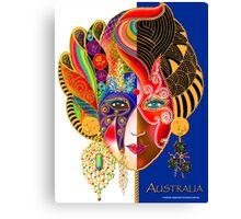 'Lady Australia' A Yanks Impression Canvas Print