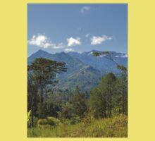 an awesome Guinea landscape Kids Tee
