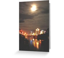 CITY LIGHTS ZONE Greeting Card