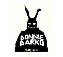 Donnie Darko - FRANK THE RABBIT Art Print