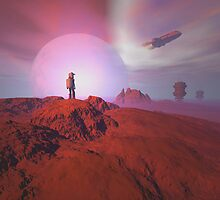 Alien landscape by Carol and Mike Werner