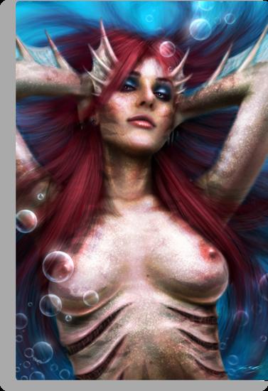 Mermaid by Javier Antunez