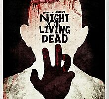 Night of the Living Dead - Minimal Poster Design by doughballdesign