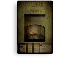 Champion Canary Canvas Print