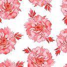 - Seamless peony pattern - by Losenko  Mila