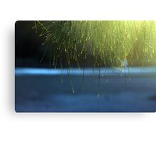 Crooked River Sunset Canvas Print