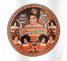 Ginger Minj Nouveau Poster