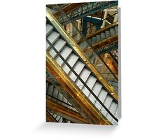 Going up? Greeting Card