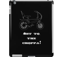 Choppa iPad Case/Skin