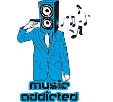 Music Addicted Photographic Print