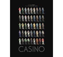 casino robert de niro suitcases Photographic Print