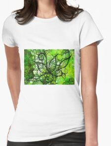 Jungle Jive Womens Fitted T-Shirt