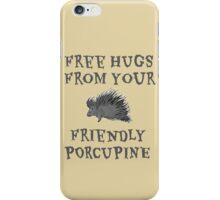 Porcupine Hugs iPhone Case/Skin