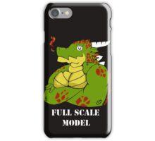 FULL SCALE MODEL iPhone Case/Skin