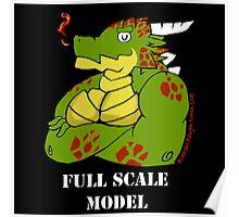 FULL SCALE MODEL Poster