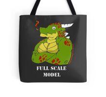 FULL SCALE MODEL Tote Bag