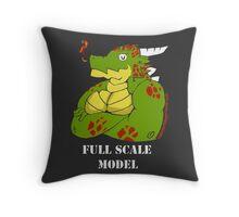FULL SCALE MODEL Throw Pillow