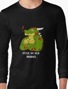 FULL SCALE MODEL Long Sleeve T-Shirt